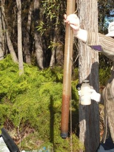 Measuring stream turbidity 2011